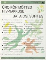Üro põhimõtted HIV-Nakkuse Ja Aidsi suhtes : Tõlgitud ja välja antud Eesti Assotsiatsiooni