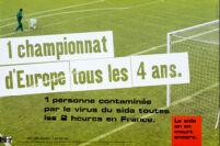 1 championnat d'Europe tous les 4 ans [inscribed]