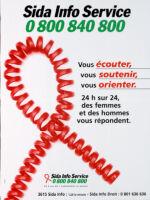 Sida Info Service, 0 800 840 800 [inscribed]