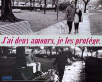 Jai deux amours, je les protège [inscribed]