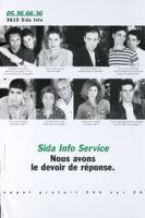 Sida Info Service : nous avons le devoir de réponse [inscribed]