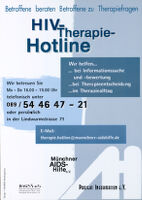 HIV-Therapie-Hotline [inscribed]