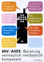 HIV/AIDS-Beratung, vertraulich, verlässlich, kompetent. www.aidshilfe.de