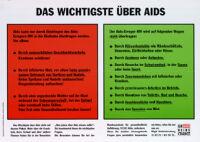 Wichtigste Über AIDS [inscribed]
