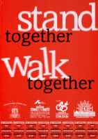 Stand together, walk together