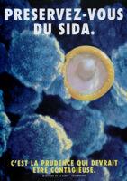 Préservez-vous du SIDA [inscribed]