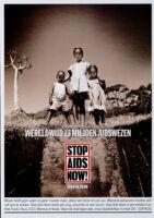 Wereldwijd 13 Miljoen AIDSwezen [inscribed]