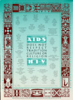 AIDS does not respect tradition, culture or religion