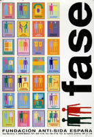 FASE : Fundación Anti-SIDA España [inscribed]