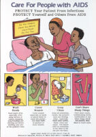 Care for people with AIDS : protect your patients from infections, protect yourself and others from AIDS