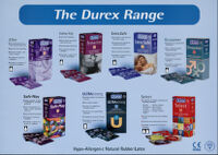 Durex range [inscribed]