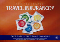 Have you arranged travel insurance? [inscribed]