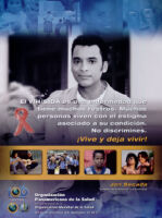 Poster with message from Jon Secada