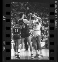 Altercation between Cal's John Wheeler and UCLA's Trevor Wilson, 1987