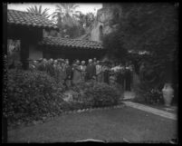 American newspaper publishers at Mission Inn in Riverside, Calif., circa 1931