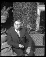 I.W. Birnbaum, Los Angeles Police Commisioner, circa 1923