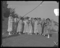 Carrie Jacobs Bond's 64th birthday party in Los Angeles, Calif., 1925