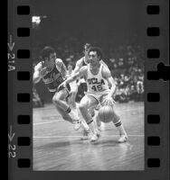 UCLA basketball player Henry Bibby playing against Santa Clara in Los Angeles, Calif., 1972
