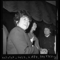 Los Angeles City Councilwoman Pat Russell at Los Angeles Times Women of the Year event in 1971