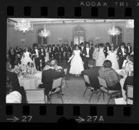 African American debutantes the Questionettes presentation at the Sheraton Universal in Los Angeles, Calif., 1972