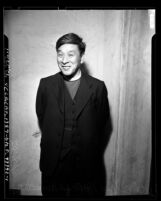Reverend Yashire, 3/4 length portrait, Los Angeles, Calif., circa 1948