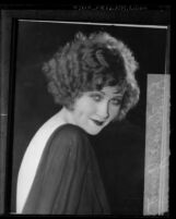 "Portrait of 1923 ""Miss Los Angeles"" beauty queen and actress Katherine Grant"