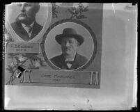 Copy of photograph, portrait of Los Angeles mayor Jose Mascarel, circa 1920