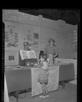 Woman's Christian Temperance Union booth at Baptist Convention in Los Angeles, Calif., 1939