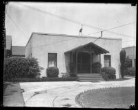 Maternity Cottage on 100 block of Utah Street Los Angeles, Calif., circa 1920