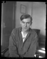 Portrait of Gordon S. Northcott in Los Angeles, Riverside or San Quentin, 1928-1930