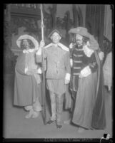 "Scene Four from ""First Californians"" pageant depicting Spanish officials during the colonial era, 1929"