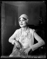 Mexican film actress Mona Rico in 1928
