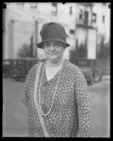 Dr. Anna E. Rude, 1929 Director of the Bureau of Maternal and Child Hygiene of the Los Angeles County