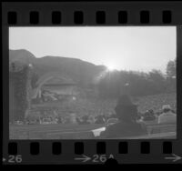 Hollywood Bowl Easter sunrise service in Los Angeles, Calif., 1974