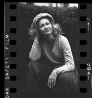 Actress Diane Ladd, portrait, 1975