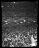 Audience at the 1942 NAACP convention in Los Angeles, Calif.