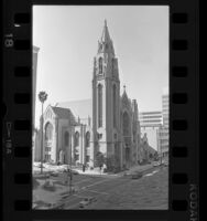 Immanuel Presbyterian Church at 3300 Wilshire Blvd. in Los Angeles, Calif., 1987