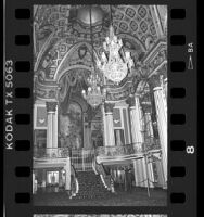 Lobby of the Los Angeles Theatre, 1987