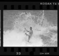 U.S. Pro tour surfing championships at Hermosa Beach, Calif., 1987