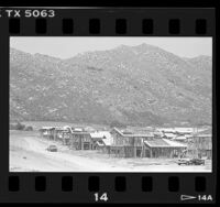 Construction of housing development in Moreno Valley, Calif., 1987