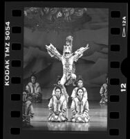 "Ballet Folklo´rico de Me´xico performing ""La Gran Tenochtitlan"" in Los Angeles, Calif., 1988"