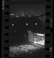Amnesty International concert at LA Memorial Coliseum, Los Angeles, 1988