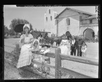 Santa Barbara Fiesta, Calif., 1959