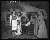 International Day celebration at International Institute in Los Angeles, Calif., 1946