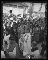 Dedication ceremony of the new Sanctuary of Our Lady of Guadalupe, Calif., 1946