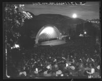 Founding of the State of Israel celebration at the Hollywood Bowl, Hollywood (Los Angeles), 1948