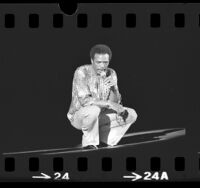 Quincy Jones performing at the Greek Theater, Los Angeles, Calif., 1975
