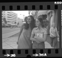 13-year-old Alexandra (Ally) Sheedy and her mother, Charlotte in Los Angeles, Calif., 1975