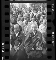 Dedication of Vietnamese Buddhist temple in Los Angeles, Calif., 1976