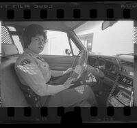 Irma Alvarez, first woman sheriff to be wounded in line of duty, Los Angeles County, Calif., 1976
